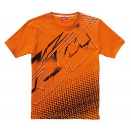 Tee-shirt KTM Logo Dots Orange