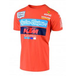 Tee-Shirt TLD Team KTM Orange