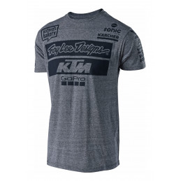 Tee-Shirt TLD Team KTM Gris