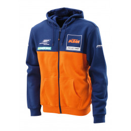 Sweat KTM Réplica Team Zip...