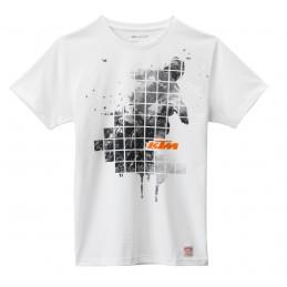 Tee-Shirt KTM Cut Up Tee White