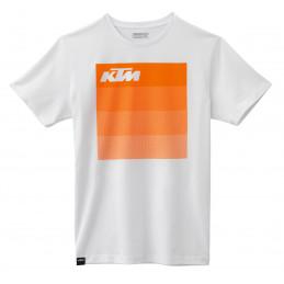 Tee-Shirt KTM Streak White