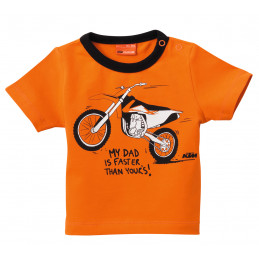 Tee-Shirt Bébé KTM My Daddy...