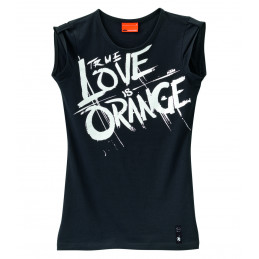 Tee-Shirt Femme KTM Orange...