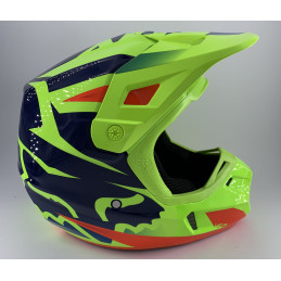 Casque FOX V2 RACE YELLOW...