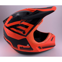 Casque FOX V3 SHIV ORANGE...