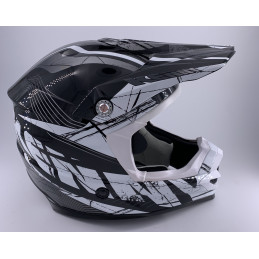 Casque Kenny Track Adulte Noir