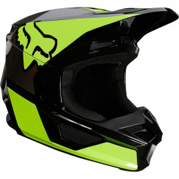Casque FOX V1 REVN Yellow...