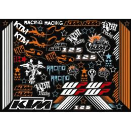 Planches autocollants KTM